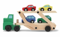 Melissa & Doug Car Carrier Toddler Toy