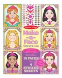 Melissa & Doug Make-a-Face Princesses Pad
