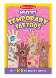 Melissa & Doug My First Temporary Tattoos, Pink