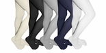 Microfiber Girls School Tights By The Dozen