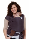 Moby Wrap 100% OE Certified Organic Cotton Carrier Eggplant