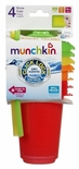 Munchkin 4pc Straw Cup, Colors May Vary