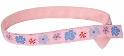 Myself Belts Girl's Pink Flower Belt