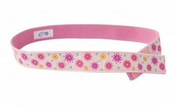 Myself Belts Pink Bright Flower Ribbon Belt