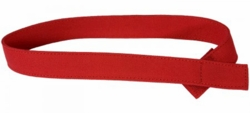 Myself Belts Toddler Red Canvas Belt