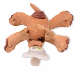 Patches Puppy Paci-Plushies Buddies
