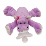 Paci-Plushies Shakies Happy Hippo