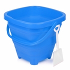 Packable Beach Pail Blue