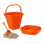Packable Beach Pails Orange