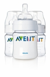 Philips AVENT Bottle 4 Oz Triple Pack