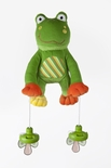PullyPalz - The Interactive Pacifier Toy Frog