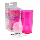 Reflo Smart Cup Alternative To Sippy Cup Red Violet