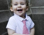 Stinky McGee Red Gingham Neck Tie