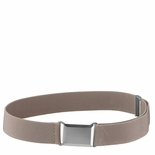 Childrens Elastic Adjustable Stretch Belt With Buckle Khaki/Camel