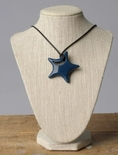 Teethease Star Pendant Navy Blue