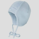 Infant Winter Helmet Hat with Chin Laces