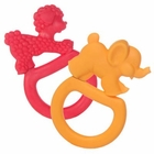 Vulli 2 Pack Vanilla Flavored Ring Teether Colors May Vary