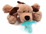 Wubbanub Pacifier Toy Brown Puppy