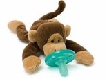 Wubbanub Pacifier Toy Monkey