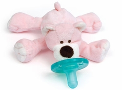 Wubbanub Pacifier Toy Pink Bear