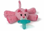 Wubbanub Pacifier Toy Pink Kitty
