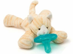 Wubbanub Pacifier Toy Tabby Kitten