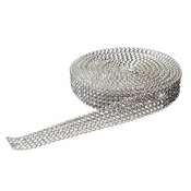 5 Rhinestone Mesh Ribbon (5 Yards Per Roll)
