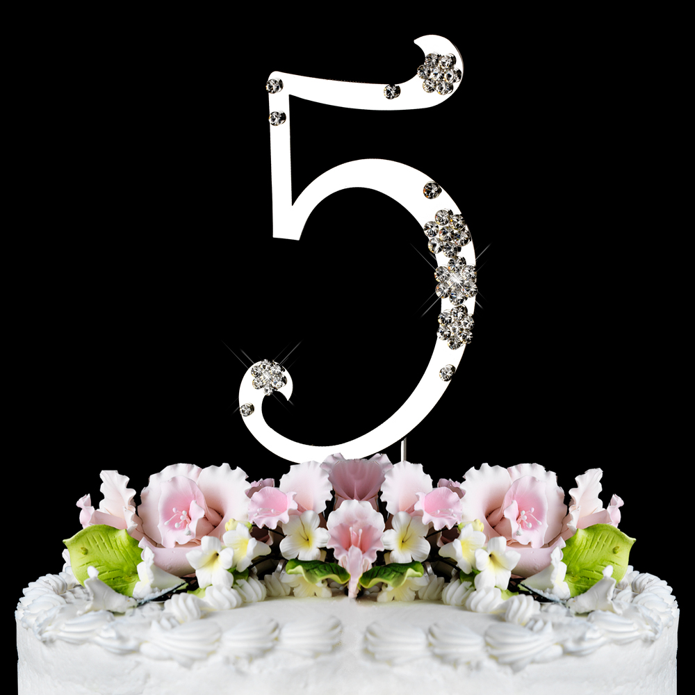 wholesale wedding cake toppers 5th birthday or anniversary wedding cake 27439