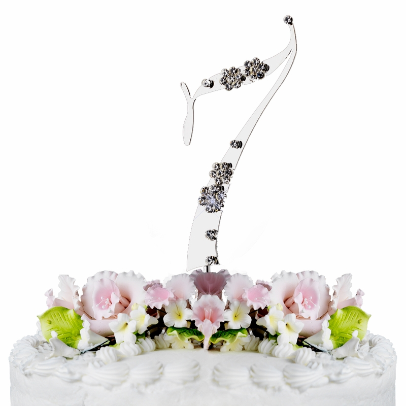 Wholesale 7th Birthday Or Anniversary Wedding Cake Topper