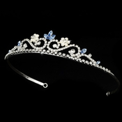 Blue Stone Bridal Tiara HP 6240