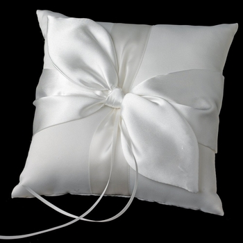 Bridal Love Knot Ring Bearer Pillow RP 17