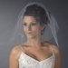 Bridal Wedding Double Layer Shoulder Length Veil 598 ***Discontinued***