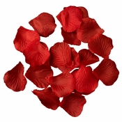 Bright Red Rose Petals - Color 5 (100 Petals Per Bag)