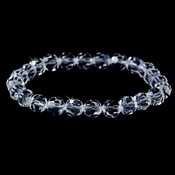 Clear Swarovski Crystal Bridal Bracelet B 201**Only 1 left***