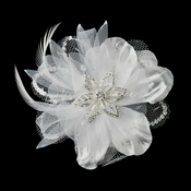 Discounted Flower & Bridal Hair Clips on Closeouts
