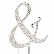 Completely Covered ~ Swarovski Crystal Ampersand Cake Topper