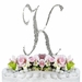 Completely Covered ~ Swarovski Crystal Wedding Cake Topper ~ Letter K
