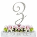 Completely Covered ~ Swarovski Crystal Wedding Cake Topper ~ Letter Z