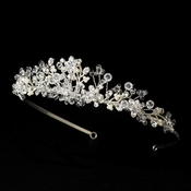 Crystal and Pearl Bridal Tiara HP 6270
