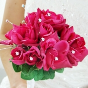 Crystal and Rhinestone Bouquet Jewelry BQ 208
