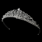 * Crystal and Rhinestone Tiara HP 7093