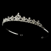 Crystal Bridal Tiara HP 1013 Silver