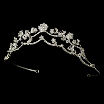 * Crystal Butterfly Bridal Tiara HP 2510 ***Discontinued***