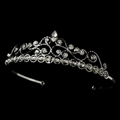 * Crystal  Inspired Tiara HP 269 * 1 Left *