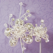 Double Flower Cake Jewelry Accent CJ1