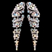 Rhodium AB Vintage Grapevine Earrings 9883***Discontinued***
