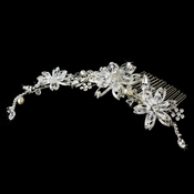 Elegant Crystal Couture Bridal Side Comb 7826