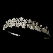 * Floral Bridal Tiara HP 1014***Discontinued***