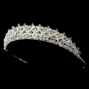 Freshwater Pearl and Swarovski Crystal Tiara HP 7094