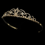 Gold Bridal Tiara HP 1009